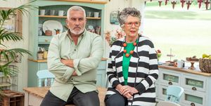 Paul Hollywood and Prue Leith, The Great British Bake Off Episode 9