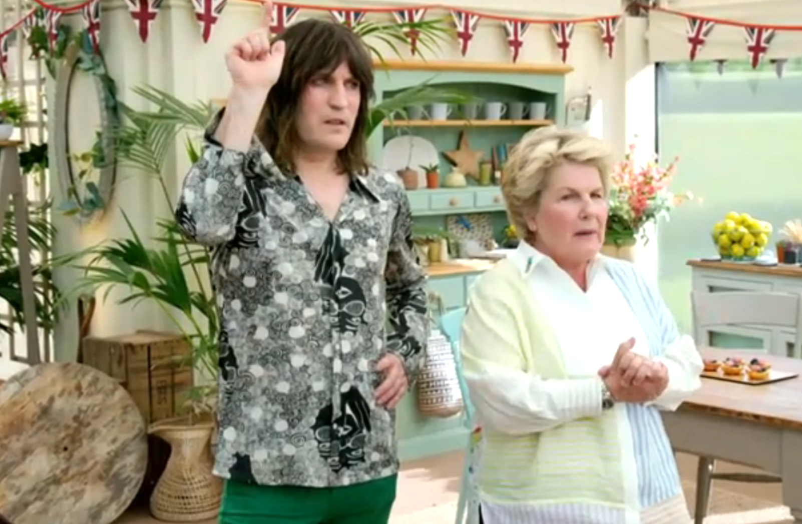 The Great British Bake Off's Pastry Week sees another baker go home