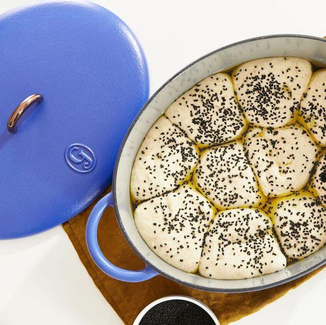 poppyseed rolls in great jones dutchess dutch oven