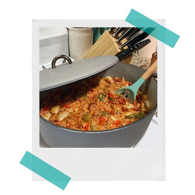 cooking jambalaya in great jones the dutchess