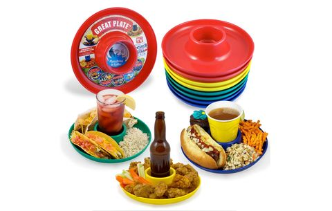 great plate Eat, Drink, and Be Standing Plates