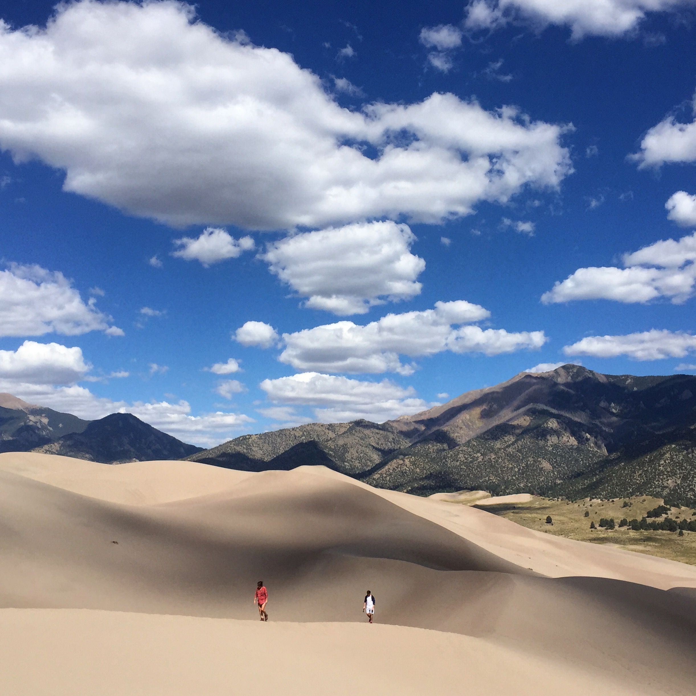 The Great Sand Dunes National Park of Colorado