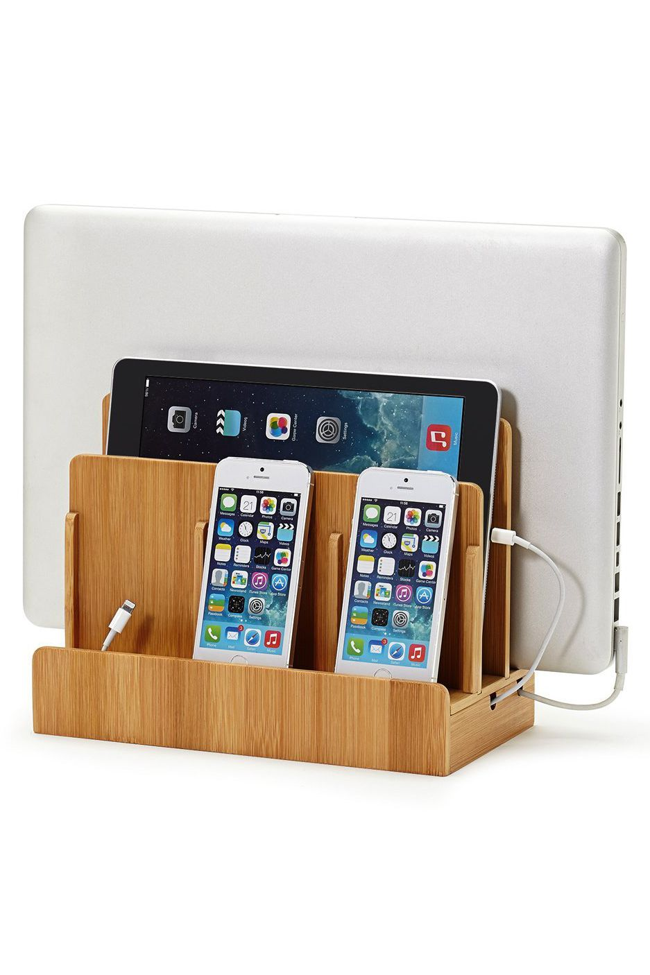 great useful stuff multi-device-charging station dock