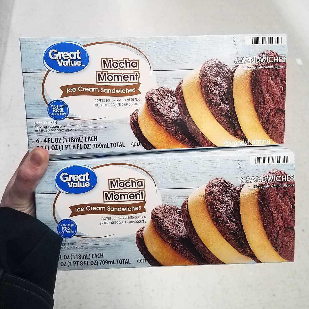 Walmart Is Selling Ice Cream Sandwiches With Mocha Ice Cream