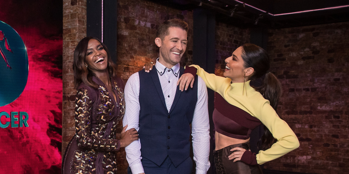 The Greatest Dancer, Oti Mabuse, Matthew Morrison, Cheryl