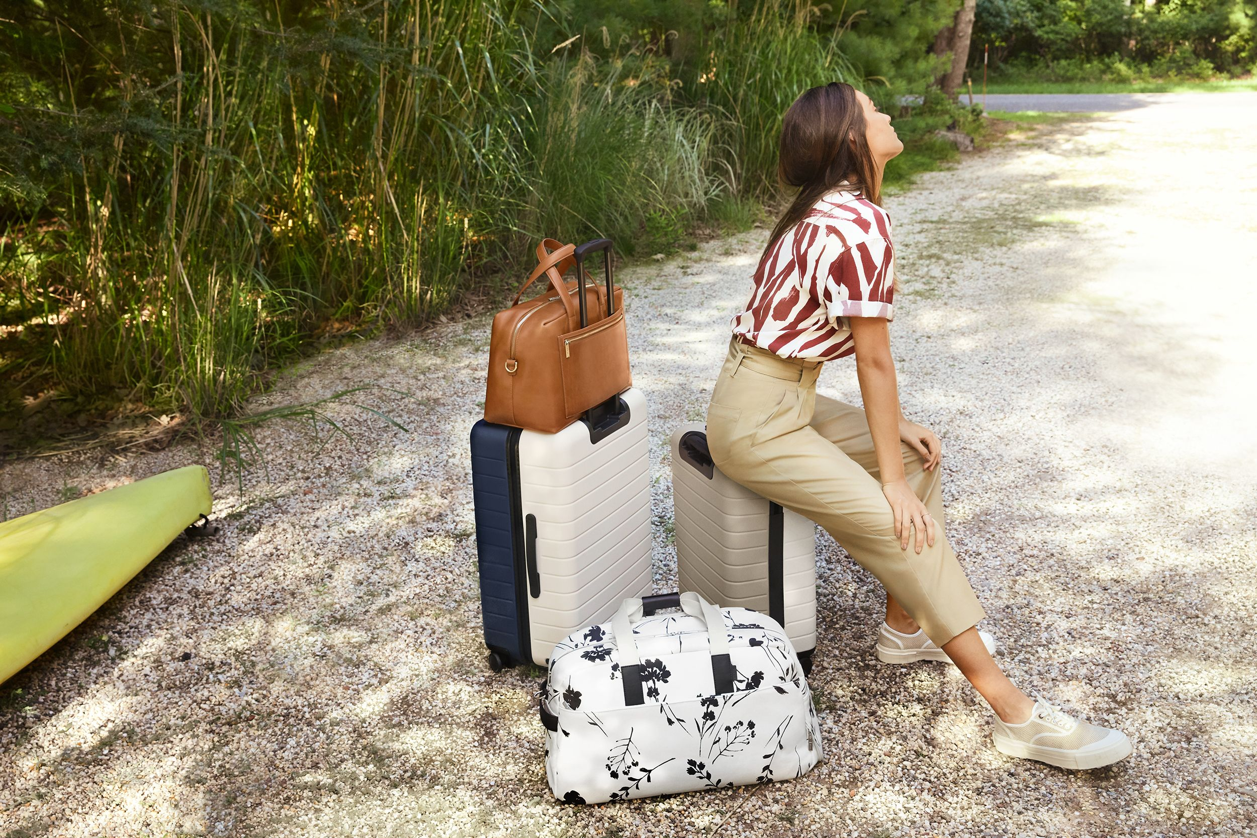 36a1665110 Zerchoo Lifestyle - Away's new beach-inspired luggage collection is ...