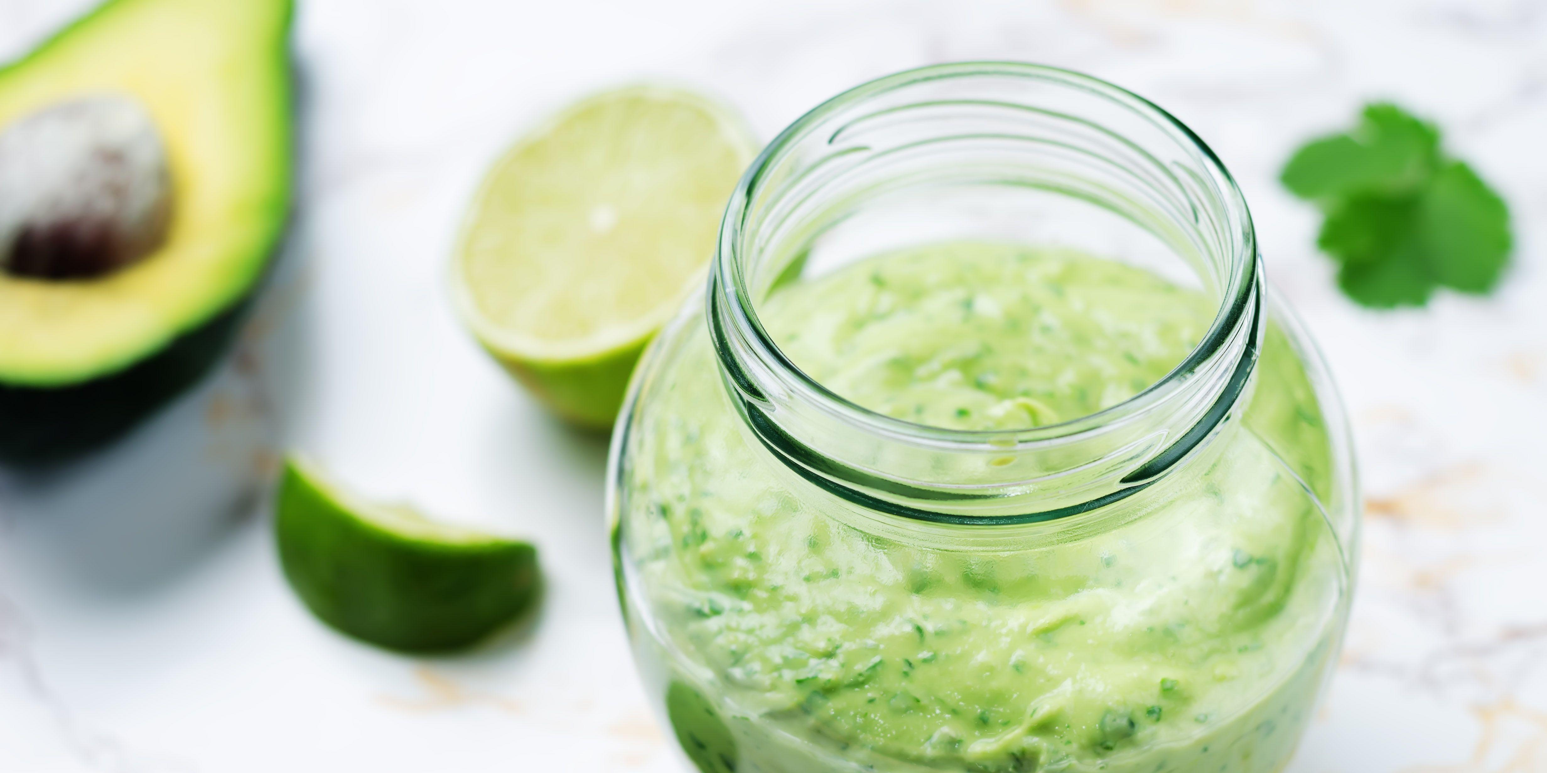 Greek yogurt avocado cilantro lime dressing