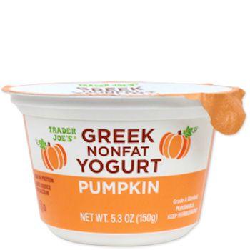 pumpkin greek nonfat yogurt