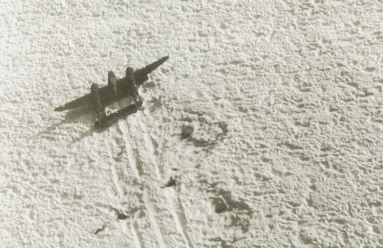 WWII P-38 Discovered Under 300 Feet of Ice in Greenland