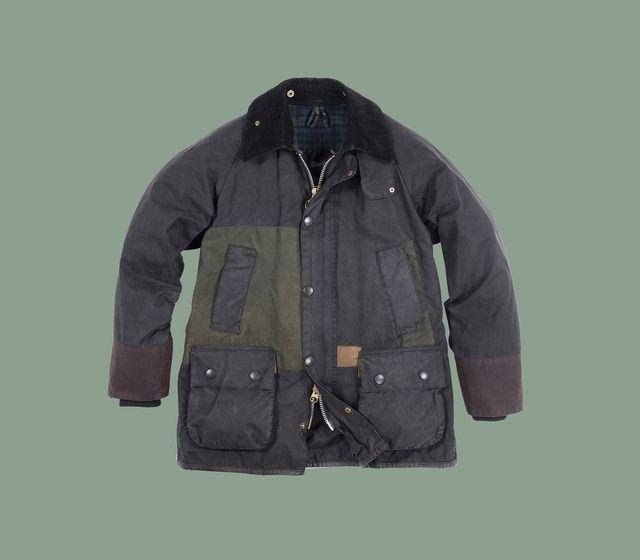 バブアーのアップサイクルジャケット