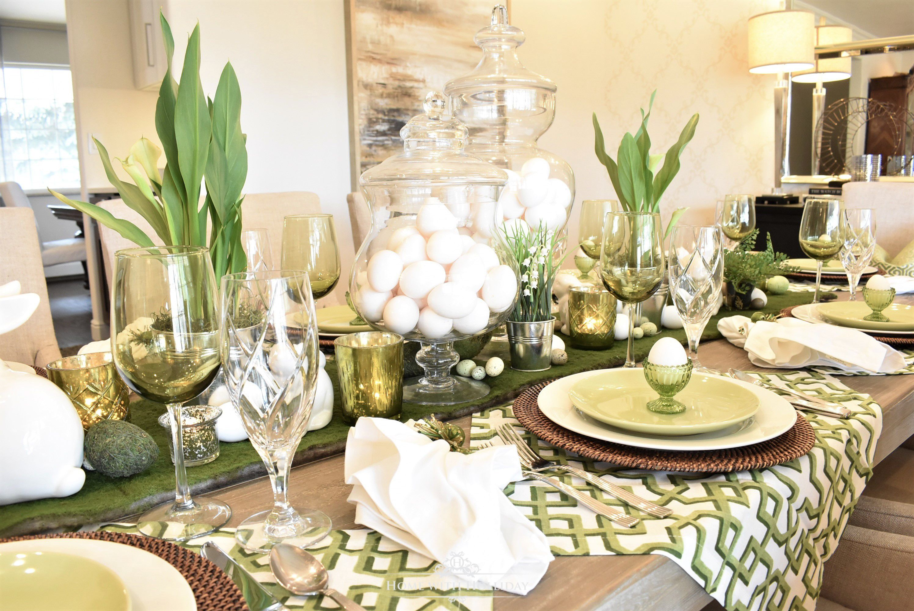 40 Diy Easter Table Decor Ideas Homemade Easter Centerpieces