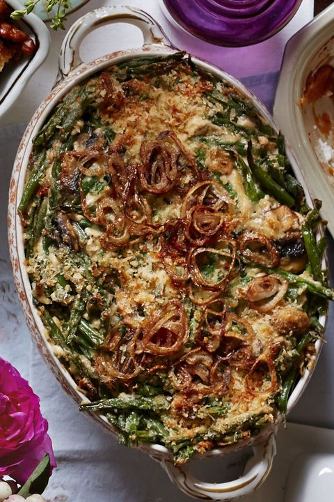 fall casseroles green bean