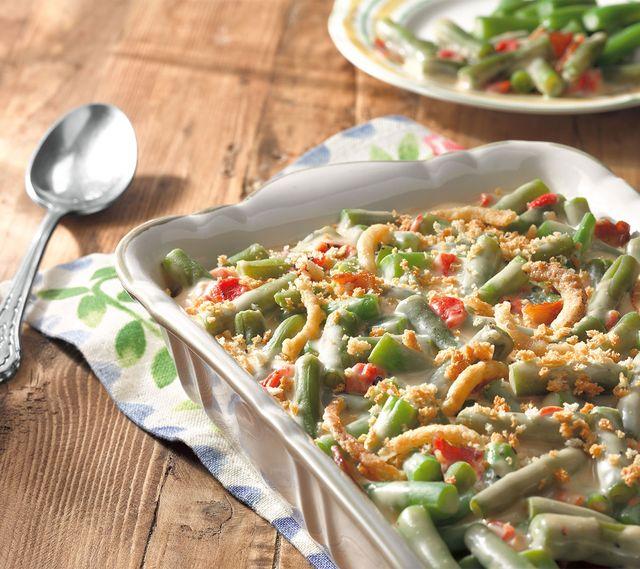 green bean casserole frozen side