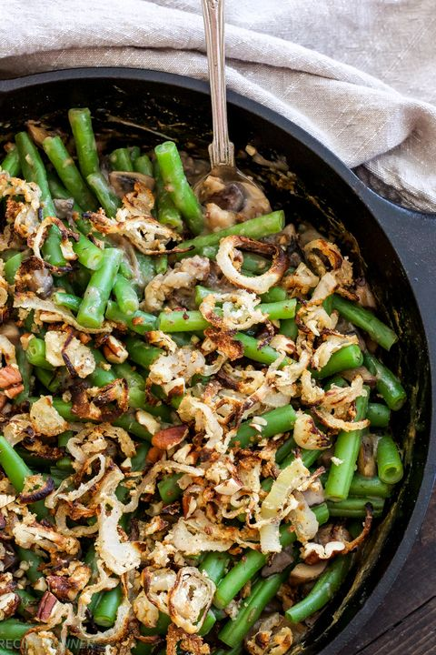 green bean casserole pecan