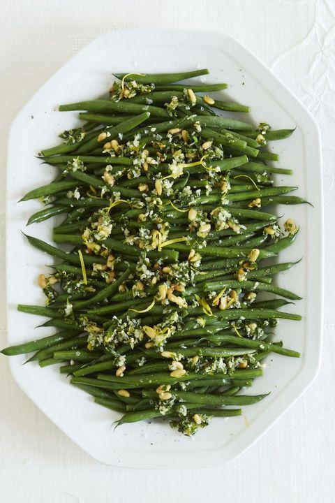 Green Bean Gremolata