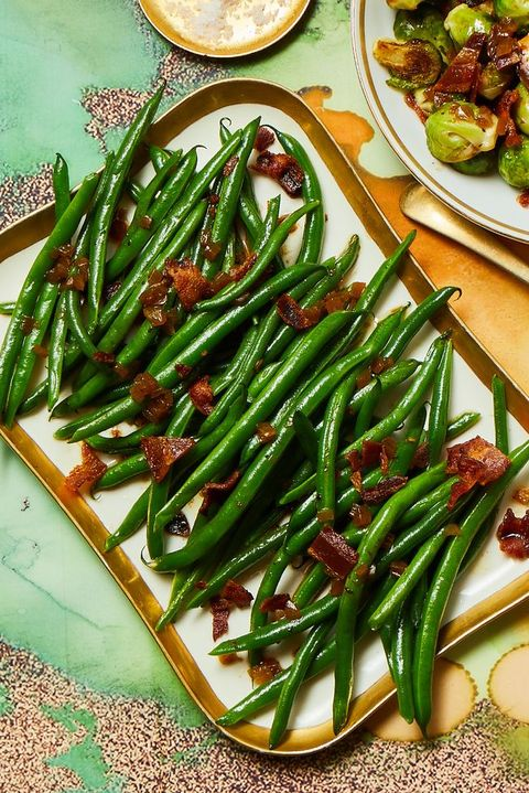green bean recipes blanched green beans
