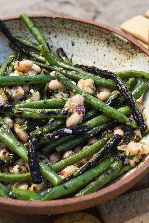 green bean recipes grilled green bean salad
