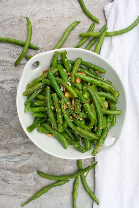 green bean recipes salad with almonds