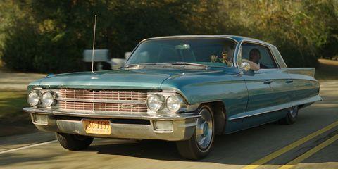 Land vehicle, Vehicle, Car, Classic car, Full-size car, Classic, Luxury vehicle, Vehicle door, Cadillac, Automotive design,
