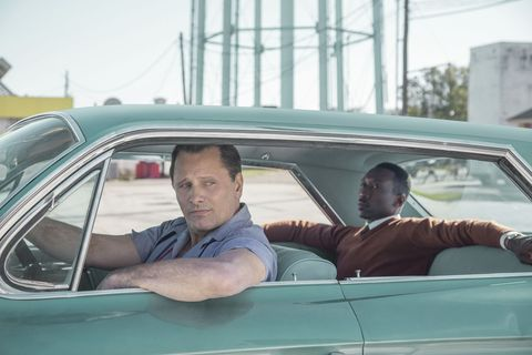 "Viggo Mortensen y Mahershala Ali en ""Green Book"""
