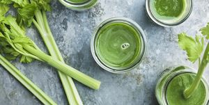 Green celery smoothie
