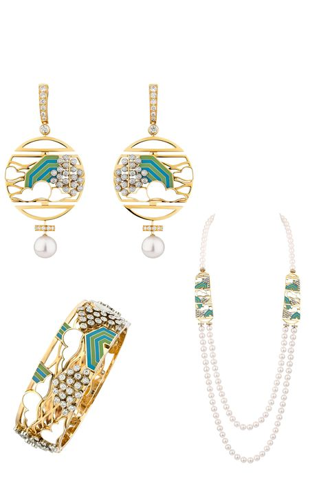 Chanel Coromandel Screen Jewelry