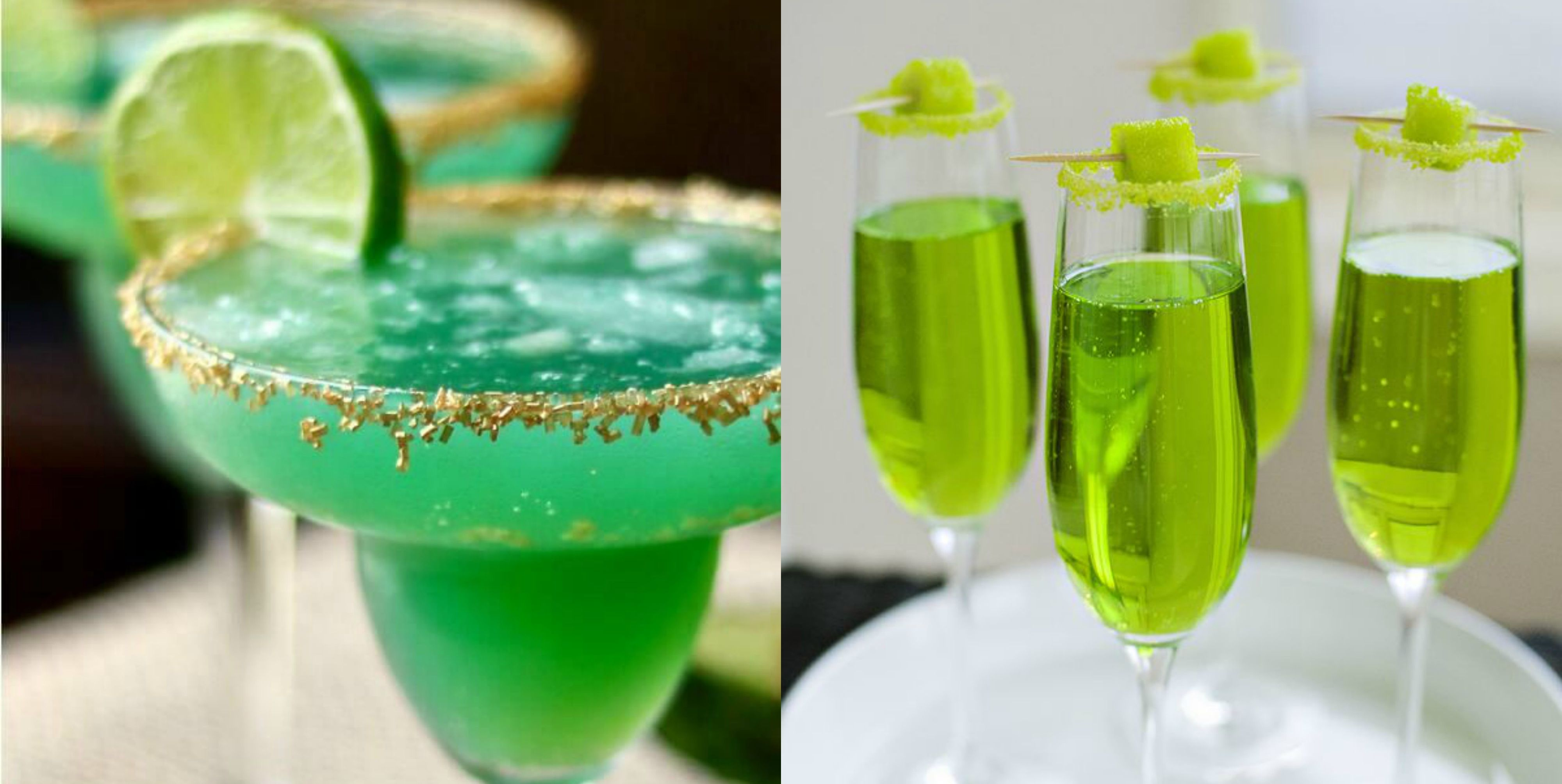 These Festive Green Cocktails Are the Most Fun Way to Celebrate St. Patrick's Day