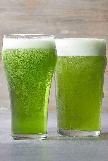 green food - green beer