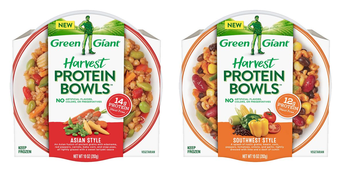 Green Giant S New Frozen Protein Bowls Make Healthy