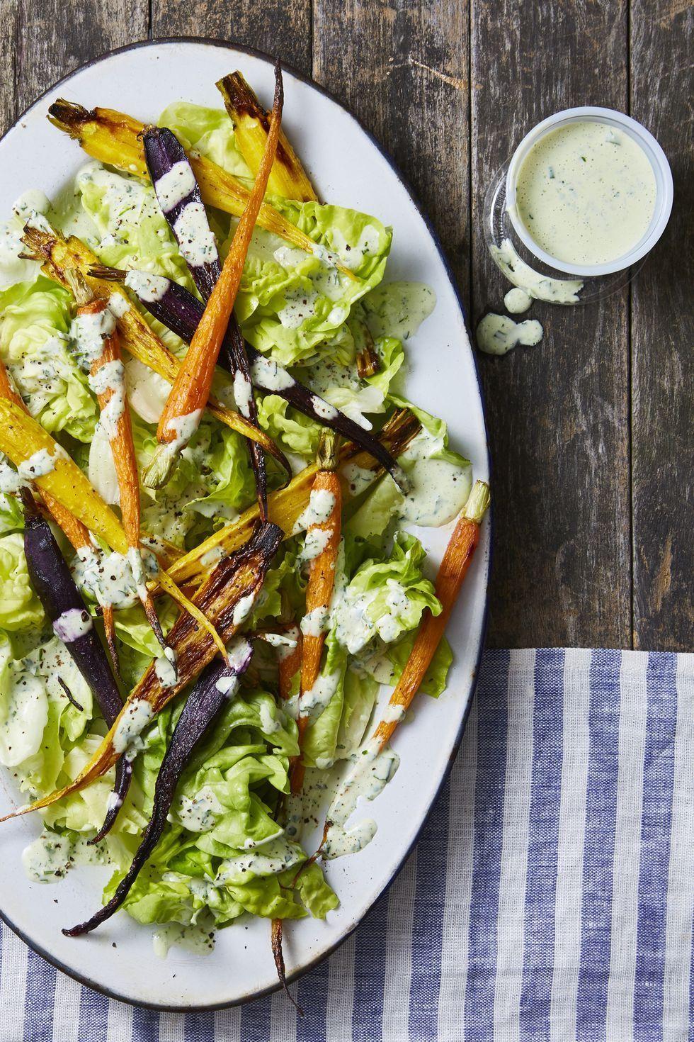 Green Goddess Carrot Salad