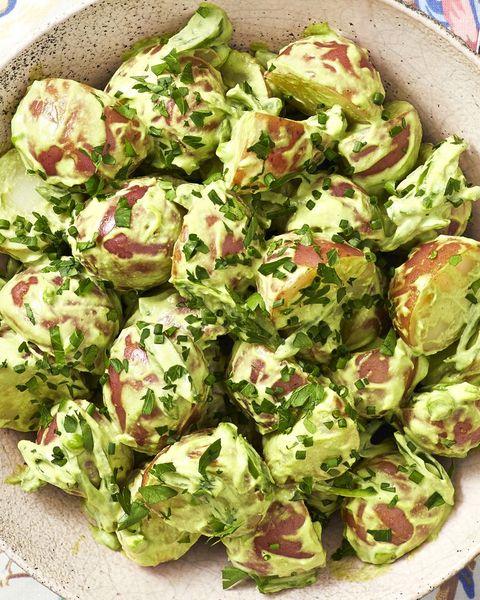 green goddess potato salad