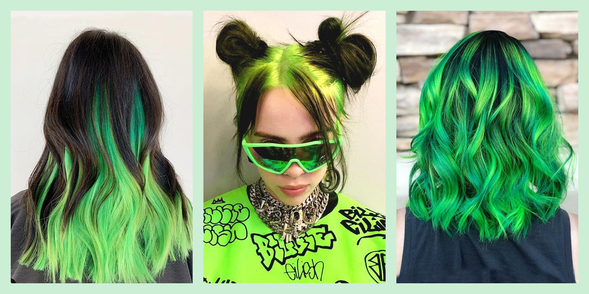 25 Green Hair Color Ideas Best Green Hair