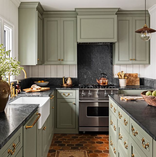 15 Best Green Kitchen Cabinet Ideas