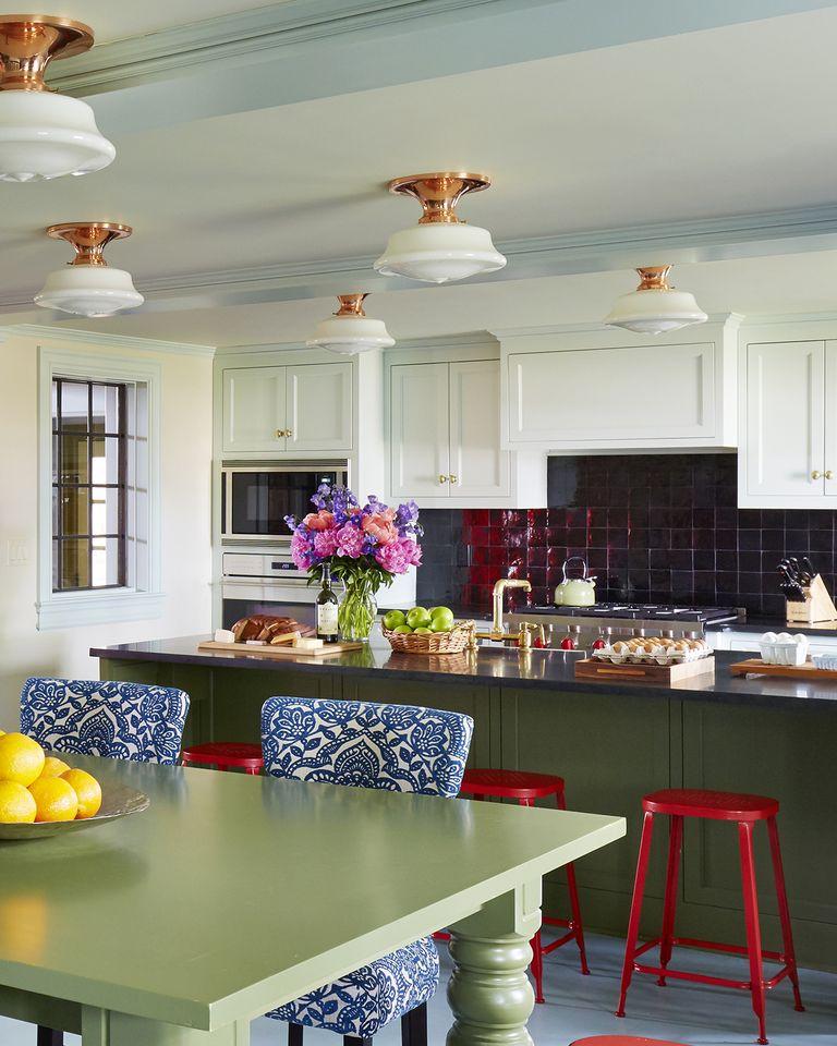 51 Green Kitchen Designs: Ideas For Green Kitchen Design