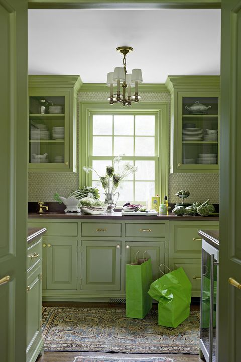 15 Best Green Kitchens Ideas For Green Kitchen Design