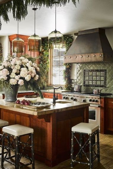 Terrific 24 Green Kitchen Design Ideas Paint Colors For Green Kitchens Short Links Chair Design For Home Short Linksinfo