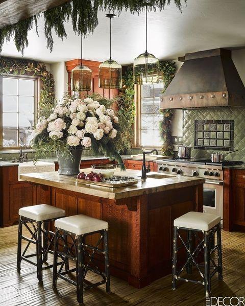 Merveilleux Green Kitchens