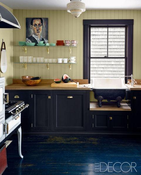 green kitchens - Green Kitchen Cabinets