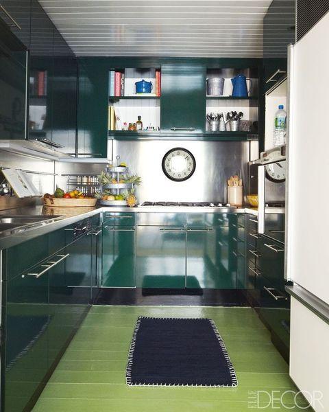 Forrest Green Kitchen Cabinets