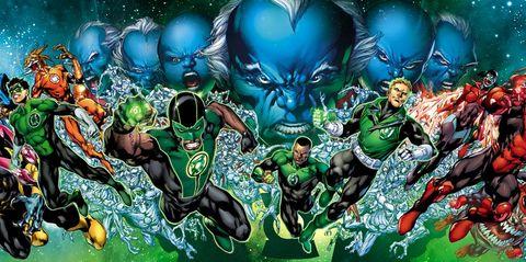 green lantern corps dc universe comics