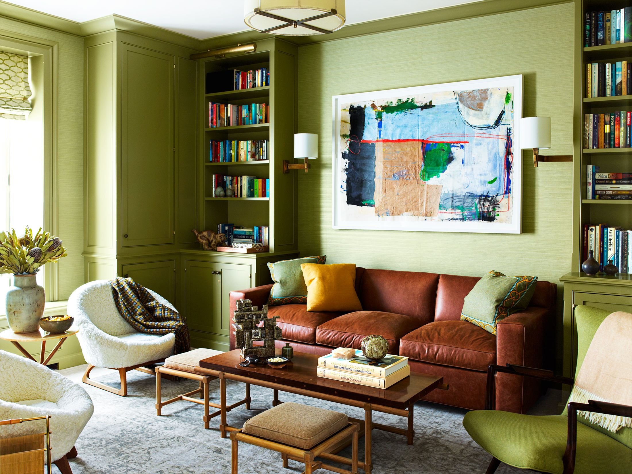 22 Best Green Living Rooms Ideas For, Green Living Room Furniture