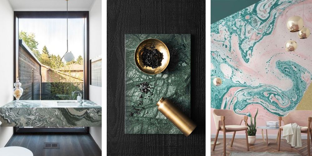 Green Marble Is The Latest Trend Youll Love