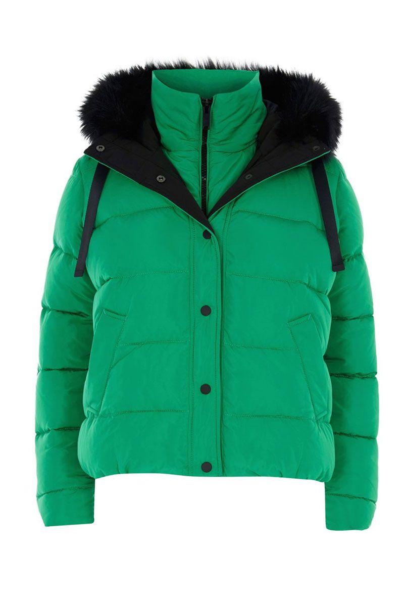 green puffer jacket - best women's puffer coat