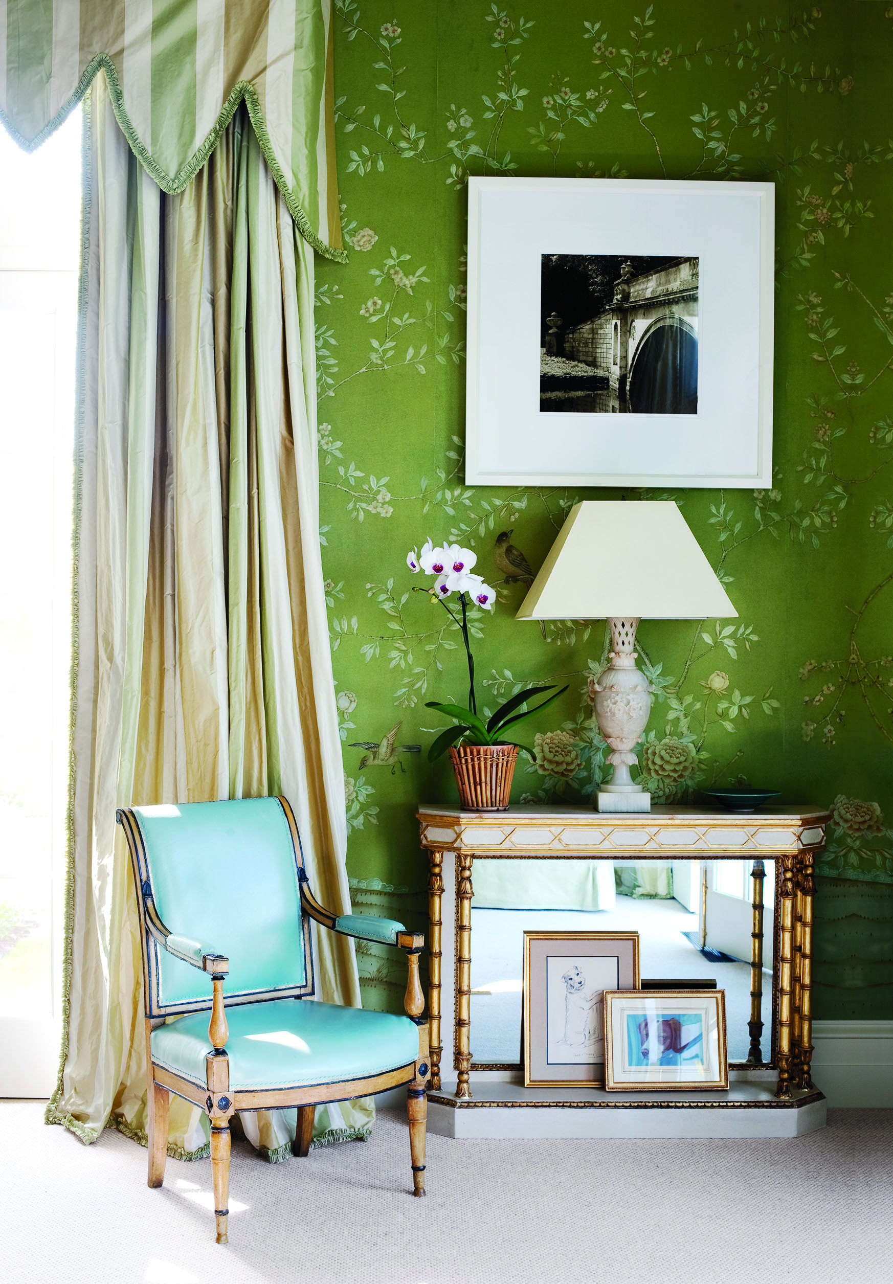 32 Green Room Ideas How to Decorate with Green Wall Paint & Decor