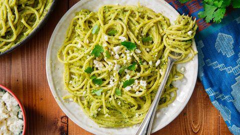 Dish, Food, Cuisine, Noodle, Spaghetti, Bigoli, Carbonara, Bucatini, Ingredient, Spaghetti aglio e olio,