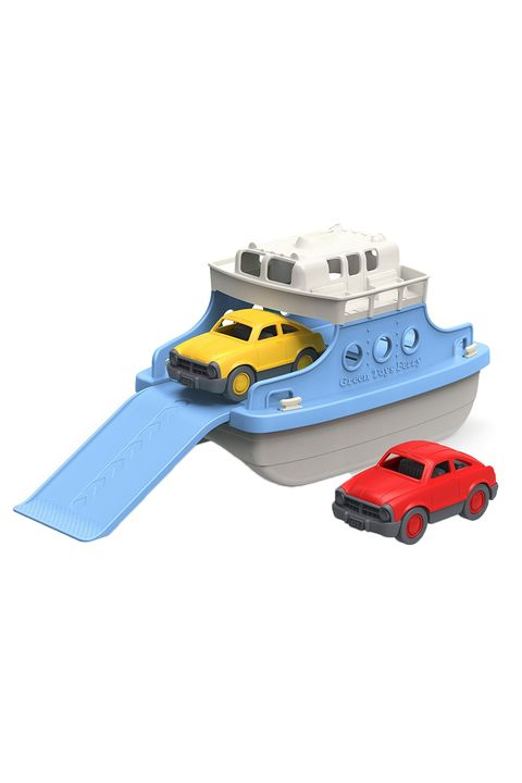 Best Bath Toys - Green Toys Ferry Boat with Mini Cars