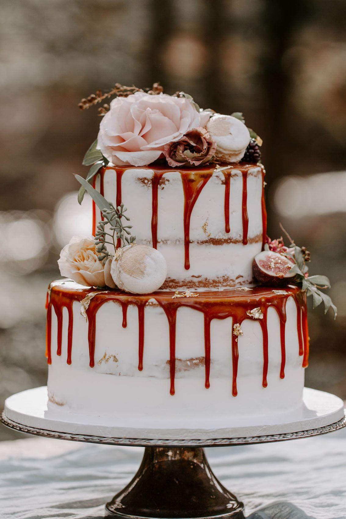22 Decadent Fall Wedding Cakes - Gorgeous Fall Wedding Cake ...