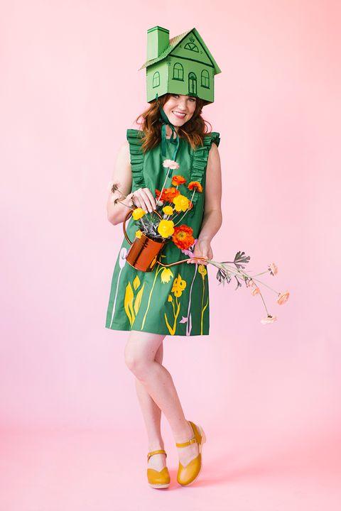 easy greenhouse halloween costume