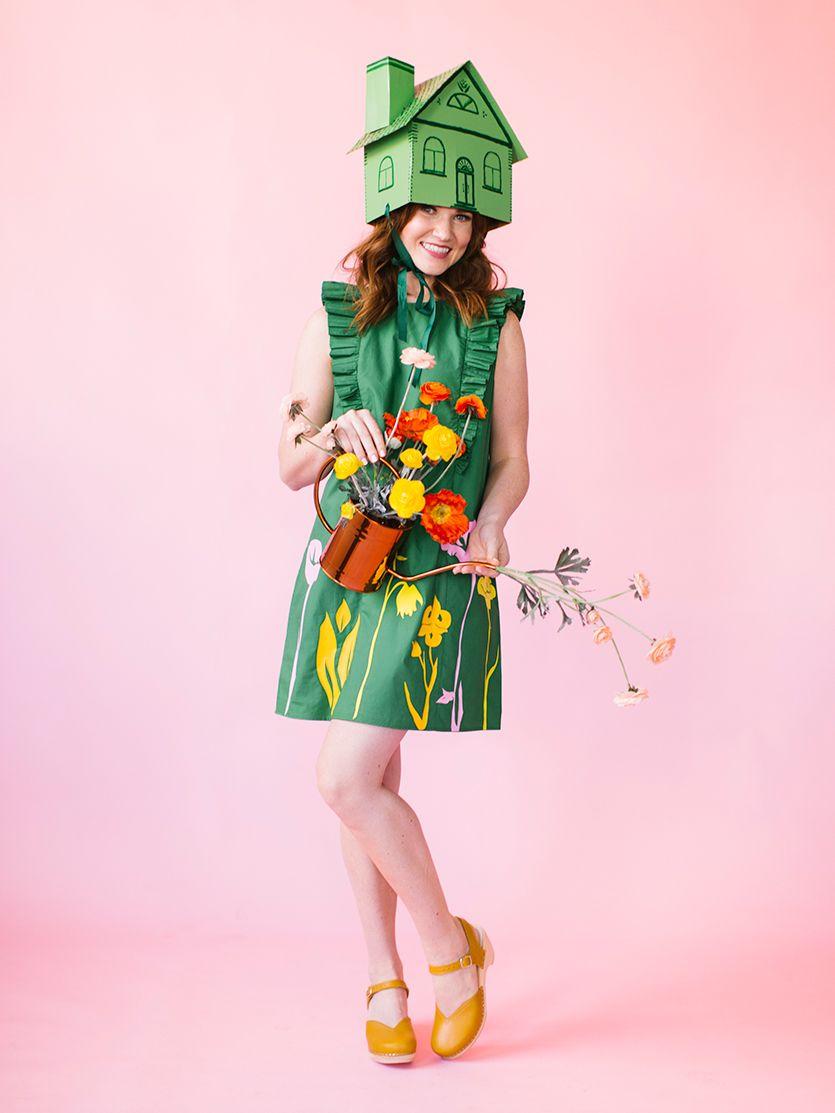 easy greenhouse halloween costume & 35 DIY Halloween Costumes for Women - Easy Halloween Costumes for Adults