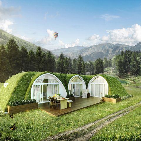 tiny DIy homes small homes hobbit homes